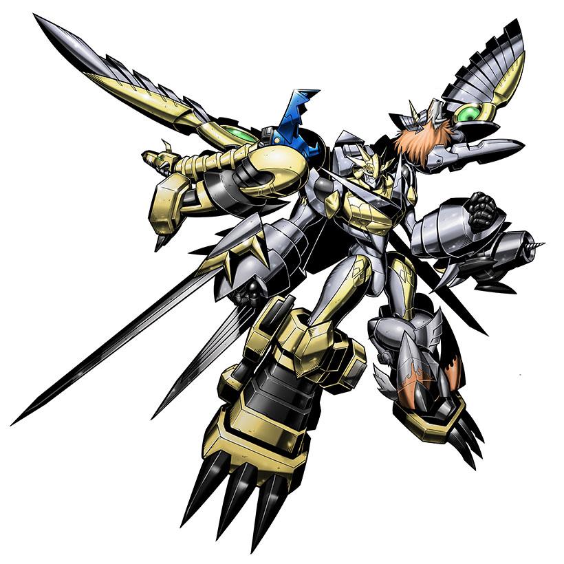 Shoutmon EX6 - Wikimon - The #1 Digimon wiki