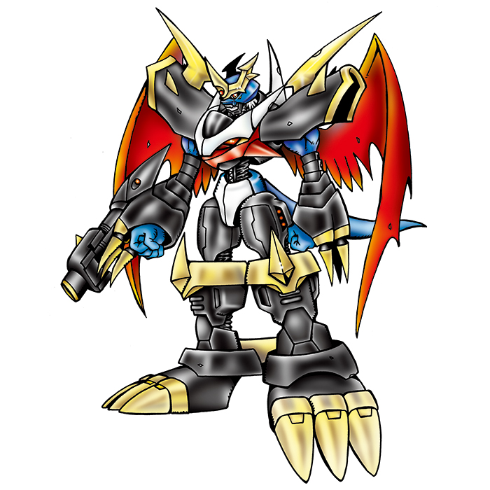Imperialdramon: Fighter Mode