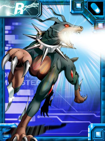 [Strabimon/Strikedramon Spirit] Dobermon_ex_collectors_card