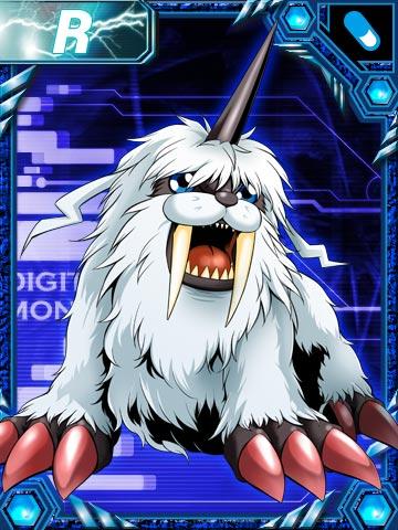 [Gomamon/Neptunemon] Ikkakumon_re_collectors_card