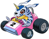 Gabumon racing.png