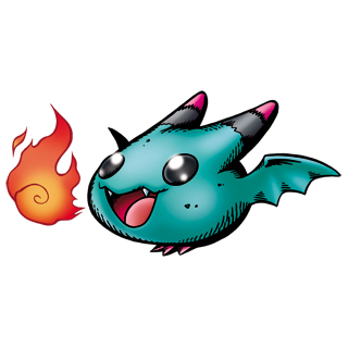 [Dracomon/Coredramon(blue)] Petitmon
