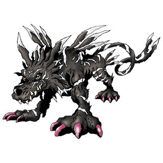 Garurumon (Black)