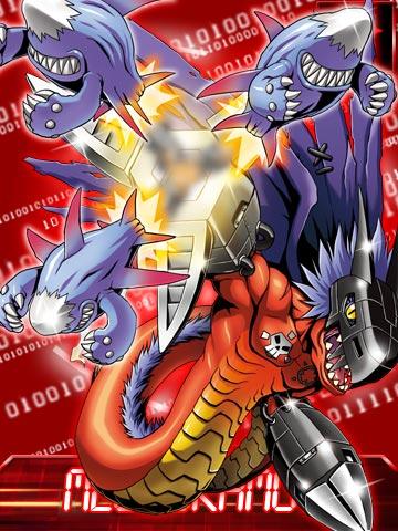 [Dracomon/DarkTyrannomon/Megadramon] Megadramon_ex_collectors