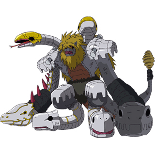 Mad Leomon (Orochi Mode)