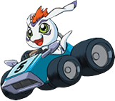 Gomamon racing.png