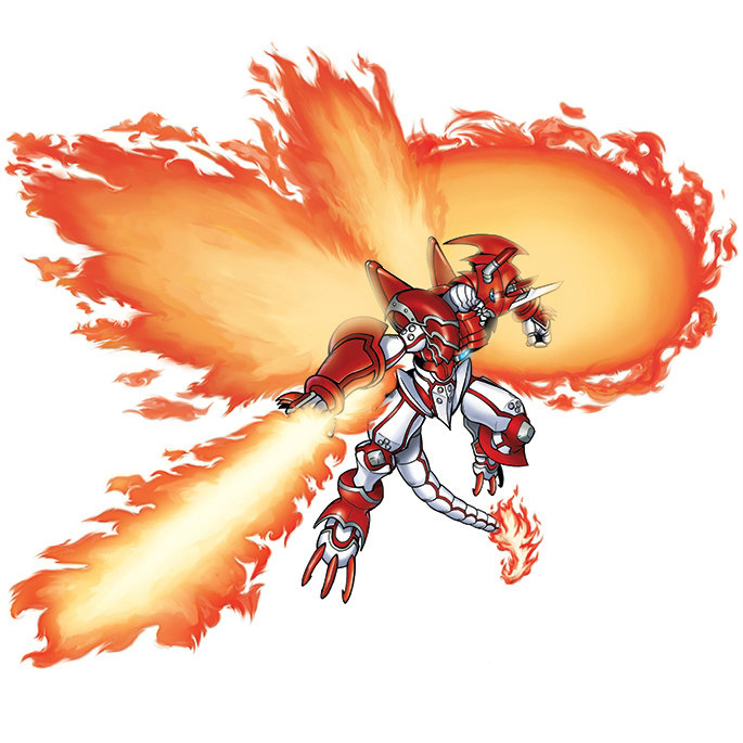 Shine Greymon: Burst Mode