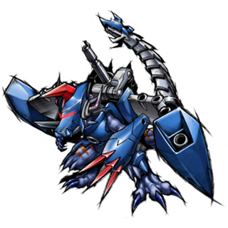 Metal Greymon (2010 Anime Version)