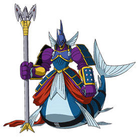 Neptunemon (Xros Wars) - Wikimon - The #1 Digimon wiki