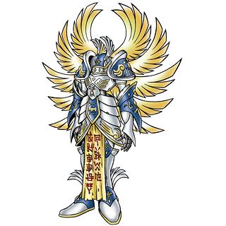 A relação dos Digimons Arcanjos com o Cristianismo Seraphimon