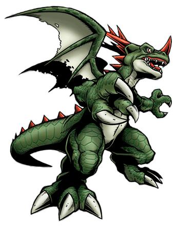 [Dracomon/Coredramon(Green)] Coredramon_green