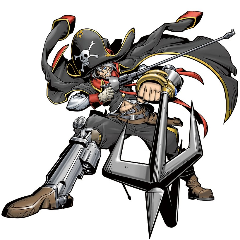 Captain Hookmon - Wikimon - The #1 Digimon wiki