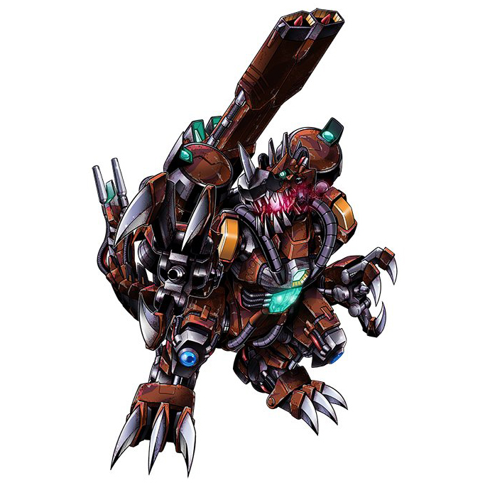 Rust Tyranomon Wikimon The 1 Digimon Wiki