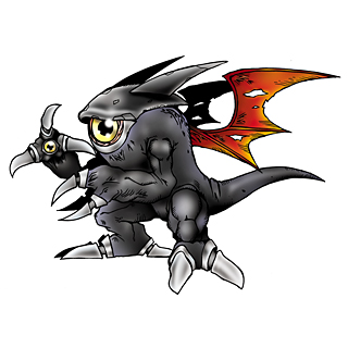Deathmon (Black)