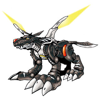 Metal Garurumon (Black)