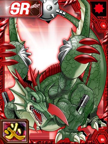 [Dracomon/Coredramon(Green)] Groundramon_re_collectors_card