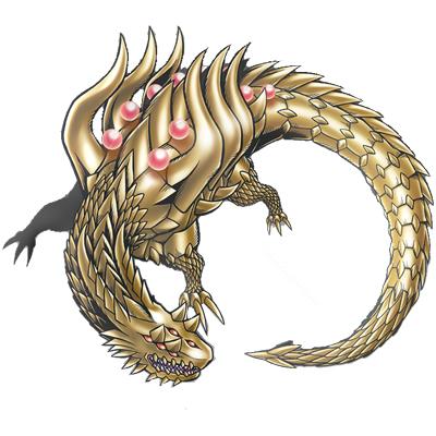 Com que outro anime gostarias que Digimon tivesse um crossover? - Página 2 Huanglongmon3