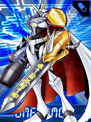 [Agumon 2006-Greymon] Omegamon_EX_Collectors_Card