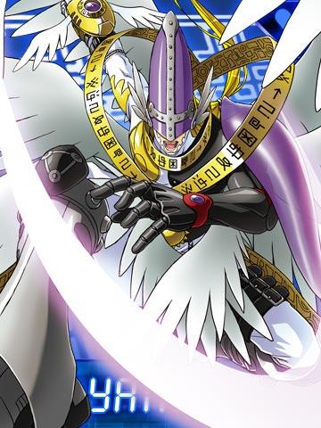 [Lucemon - Seraphimon] Holyangemon_collectors_card2
