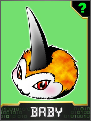 [Gumdramon/Tailmon] Tunomon_Collectors_Baby_Card