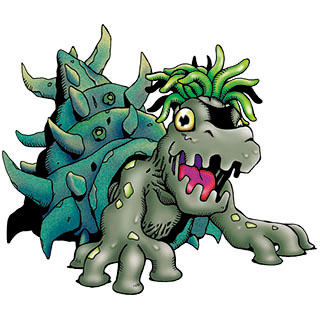 Abecedario Digimon! - Página 12 Morishellmon