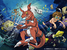 Digimon Tamers: The Adventurers' Battle promo art