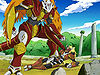 """Defeat Me! Legendary Warrior Vritramon Runs Wild """