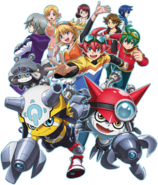 Digimon Universe Appli Monsters poster