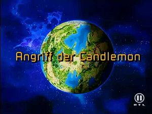 "Angriff der Candlemon (""Attack of the Candlemon"")"
