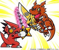 Shoutmon Starsword Guilmon zubamon digimonweb.jpg