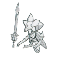 Spadamon sketch super xros wars5.png