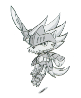 Spadamon sketch super xros wars13.png