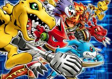 Digimon Fortune poster