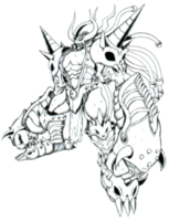Titamon lineart.png
