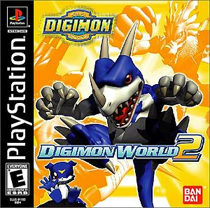 Digimon World 2 Box Art