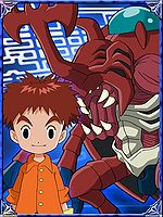 Izzy & AtkurKabuterimon Collectors Digimon Adventure Special Card.jpg