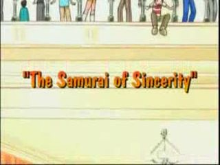 The Samurai Of Sincerity)
