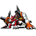 Shoutmon + Dorulu Cannon