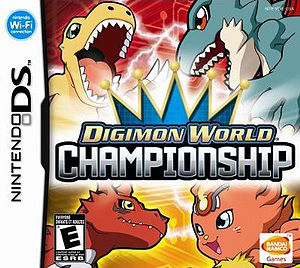 Digimon World Championship Box Art