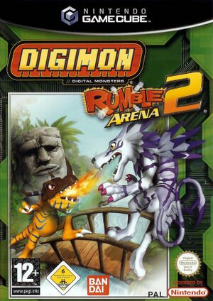 Digimon Rumble Arena 2 Box Art