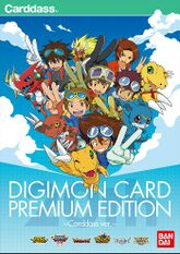 Digimon Card Premium Edition Carddass ver. promo art