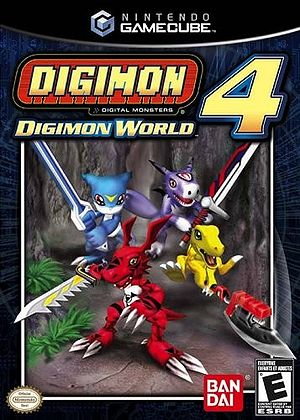 Digimon World 4 Box Art