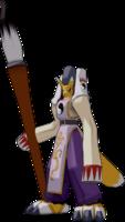 Arte sobre el mundo de Digimon