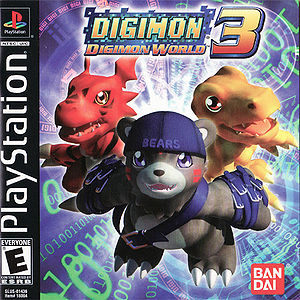 Digimon World 3 (North America)Digimon World 2003 (Europe) Box Art