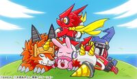 Shoutmonking ballistamon dorulumon cutemon digimonweb.jpg
