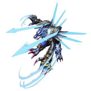 Were Garurumon: Sagittarius Mode