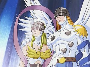 digimon angemon evolution