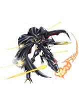 Omegamon Zwart - Wikimon - The #1 Digimon wiki