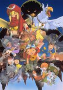 Digimon Frontier Revival of the Ancient Digimon promo