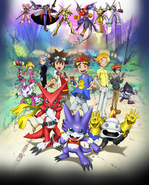 Digimon Xros Wars: The Young Hunters Who Leapt Through Time poster